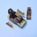 Accessory for plastic models - Hawker HUNTER cockpit set