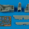 Accessory for plastic models - F-16cG/CJ Falcon cockpit set