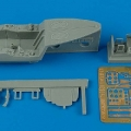 Accessory for plastic models - Focke Wulf Ta 183A cockpit set