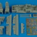 Accessory for plastic models - F-16B MLU Fighting Falcon cockpit set