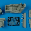 Accessory for plastic models - F-16C Barak cockpit set