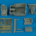 Accessory for plastic models - F-100C Super Sabre cockpit set
