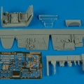 Accessory for plastic models - Bf 109G-14 cockpit set